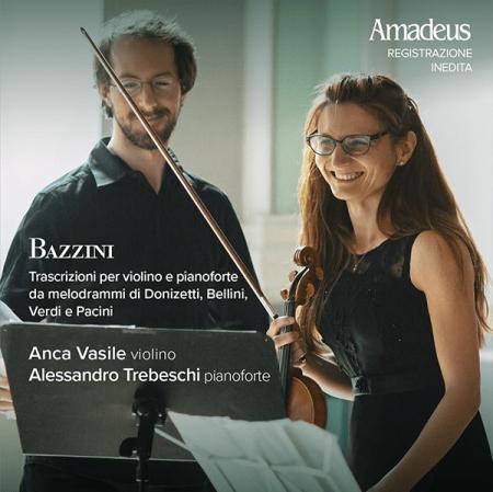 Trascrizioni per violino e pianoforte da melodrammi di Donizetti, Bellini, Verdi e Pacini