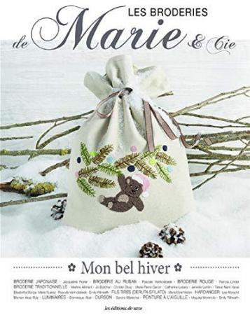 Les broderies de Marie & Cie. 9: Mon bel hiver