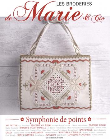 Les broderies de Marie & Cie. 8: Symphonie de points
